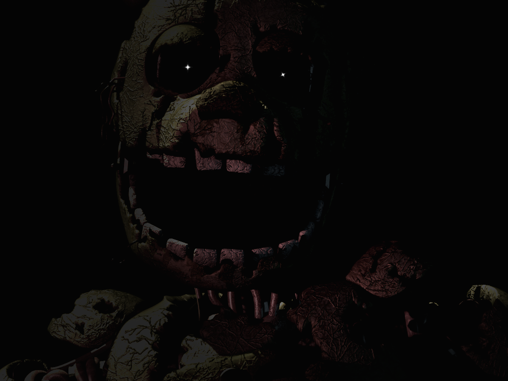 Springtrap deathscreen 3 by wyvernx1 on deviantart