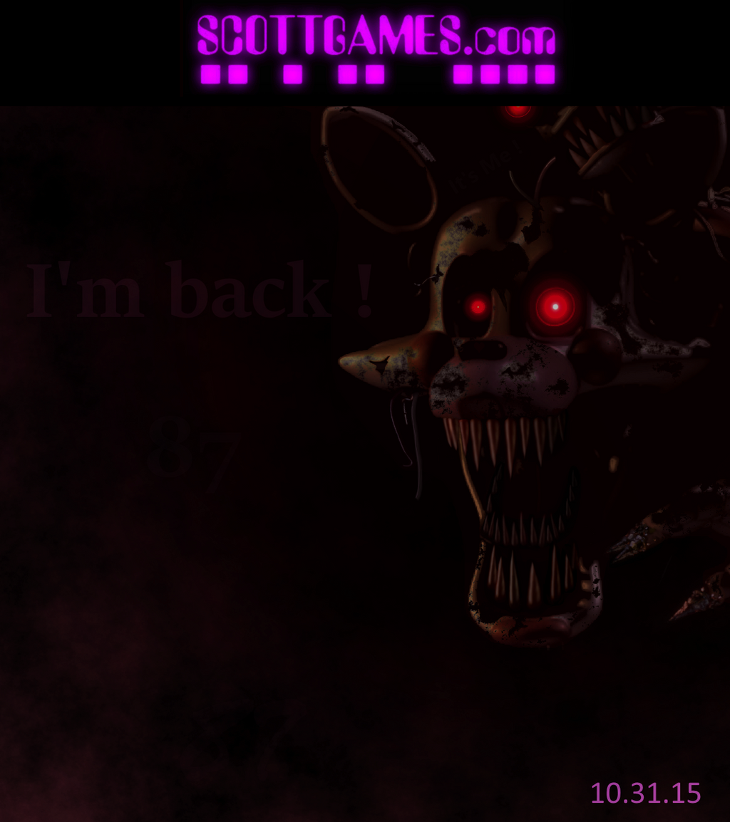 Five nights at freddy s 4 nightmare mangle by wyvernx1 on