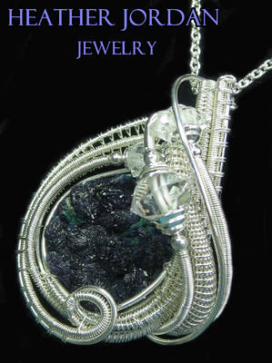 Azurite Druzy and Tarnish-Resistant Sterling Silve