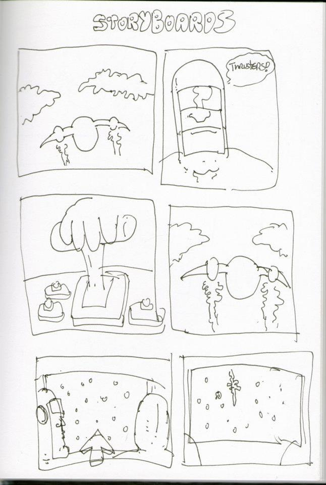 Storyboards by WarrenSikes