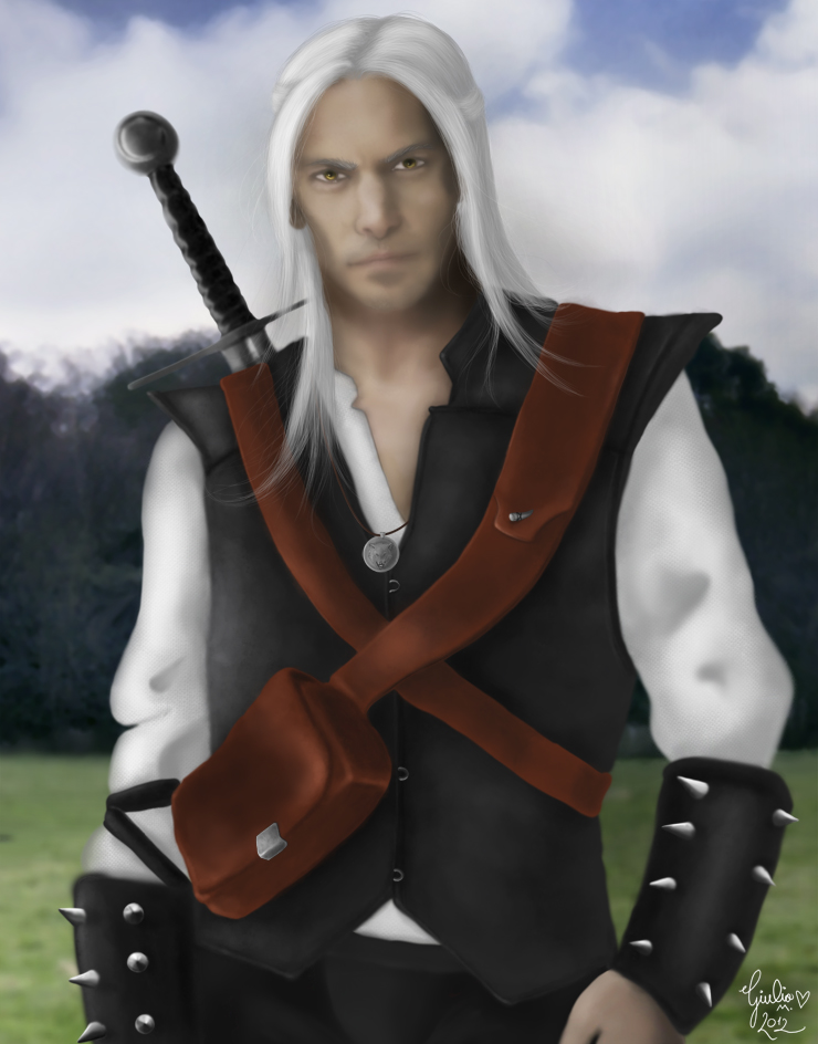 Geralt of rivia by Urumiccina on DeviantArt