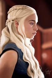 Daenerys Targaryen by Urumiccina