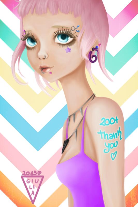 200 Thanks by Urumiccina