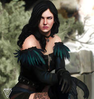 Yennefer by Urumiccina