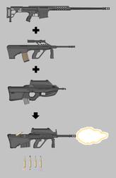Steyr KUG - Pimp My Gun by goodfebruarian