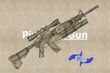 M16 A4 SOPMOD by goodfebruarian
