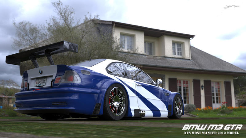 bmw m3 gtr nfs most wanted 2012 by no0bplayer on deviantart