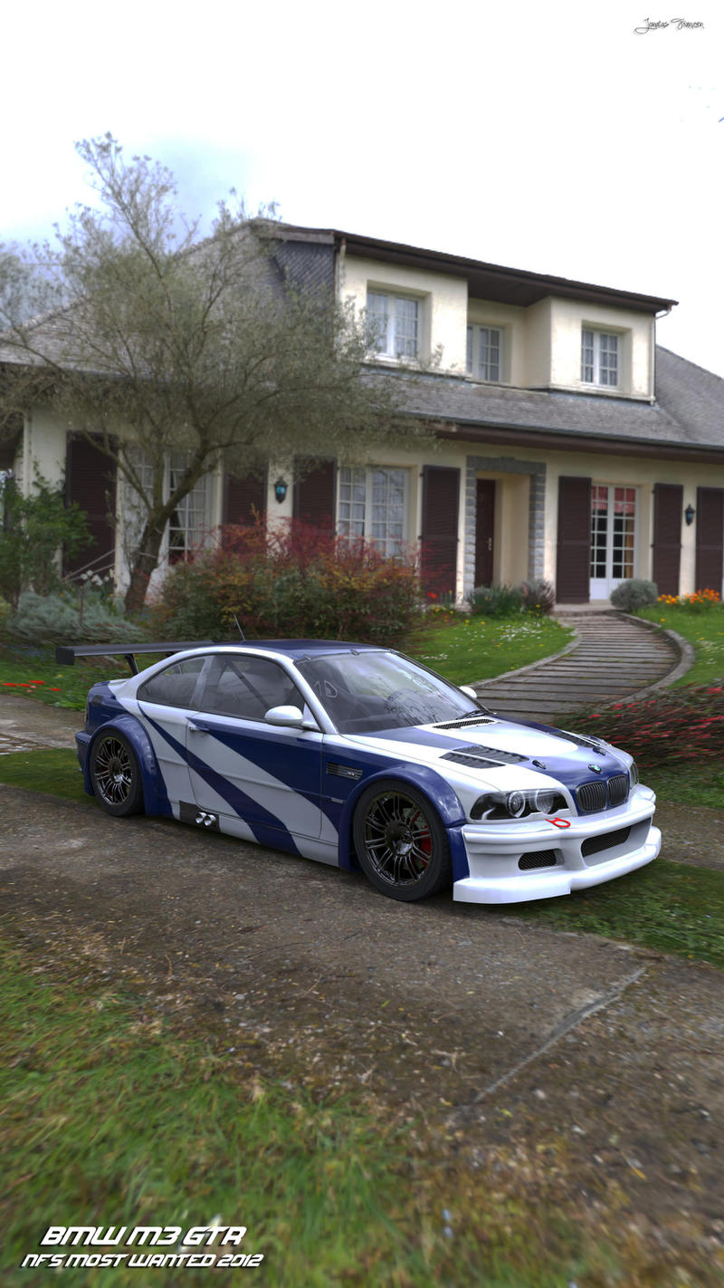 BMW M3 GTR - NFS MOST WANTED 2012 by NO0BPLAYER on DeviantArt