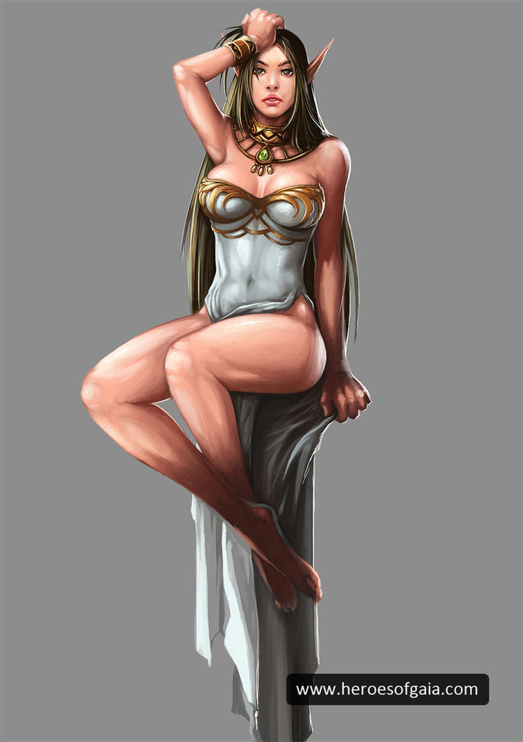 female elves sexy nude