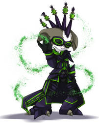GW2 commission for Amy by PapaVego