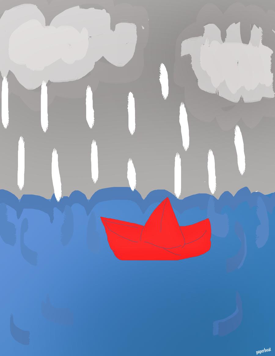 perahu kertas by applefayy