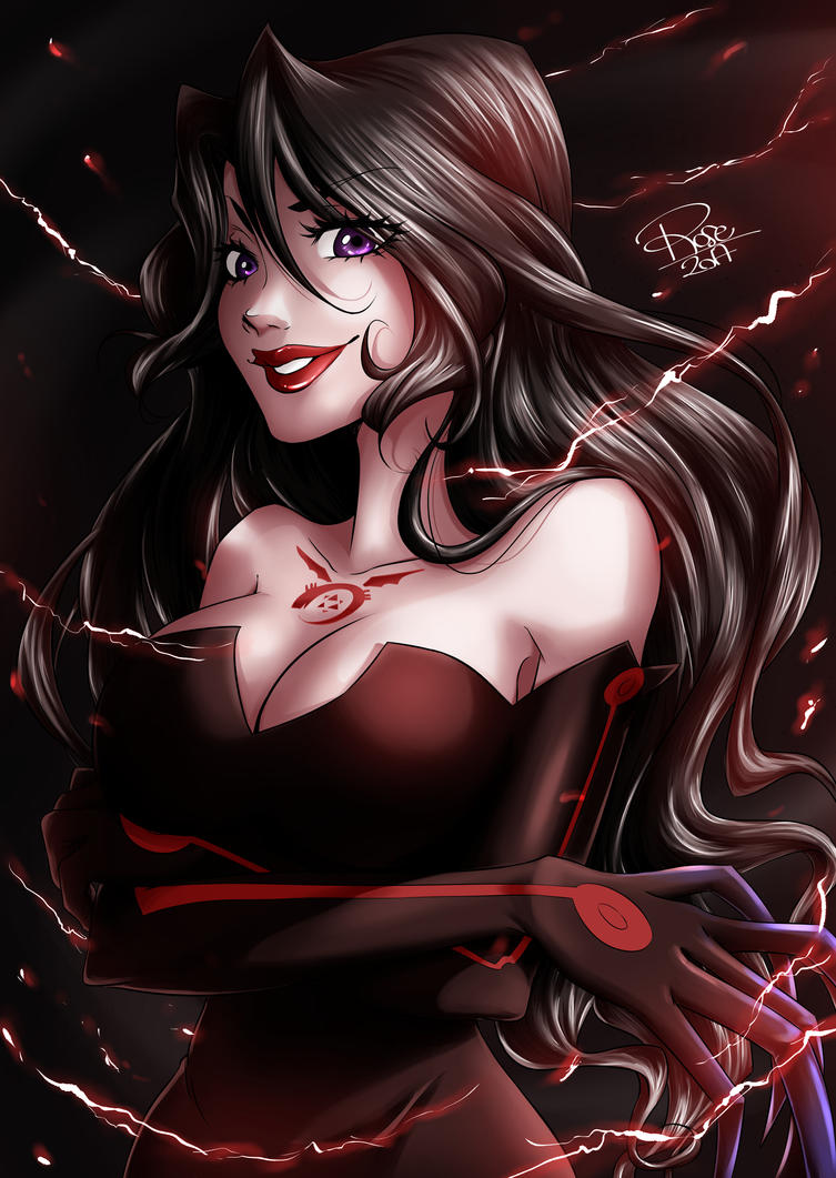 Lust -  Fullmetal Alchemist by rose-92