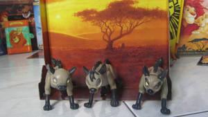 TLK collection: Mattel Hyenas Trio