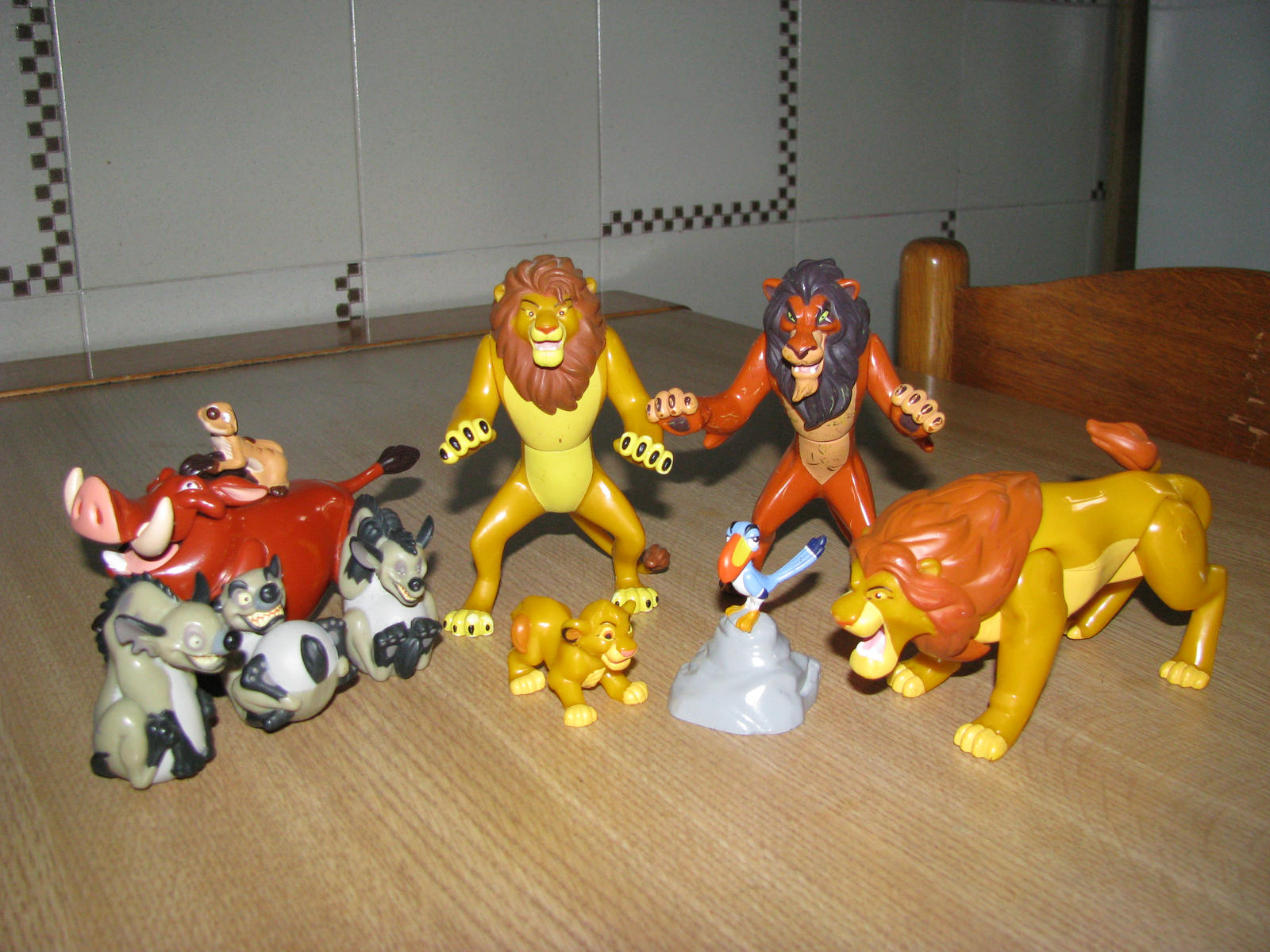 TLK collection: Hasbro Action Figures Complete Set by kary218