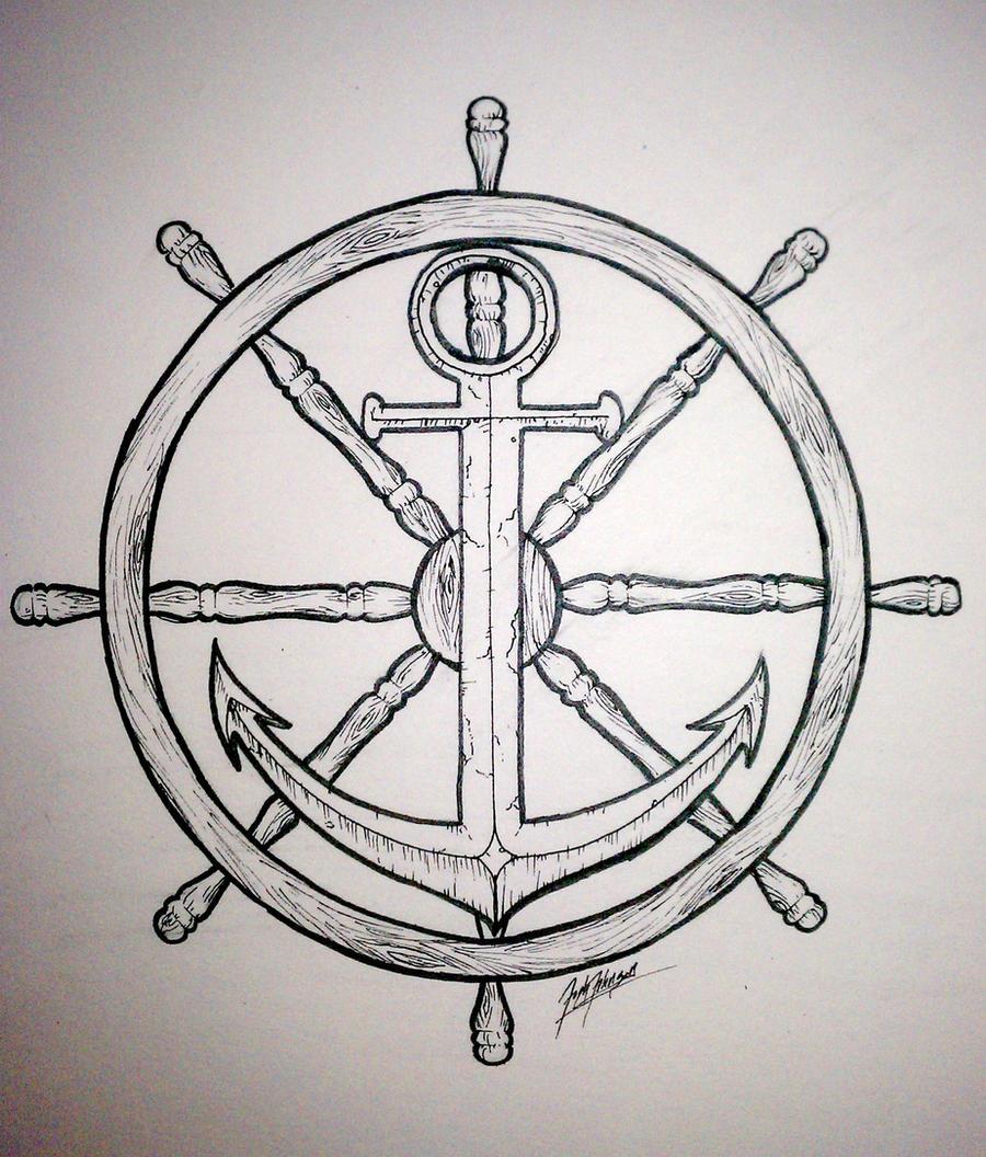 Wheel and Anchor