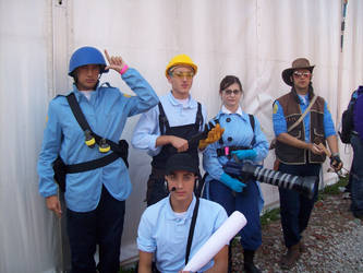 Lucca Comics: TF2 by FlamiatheDemon