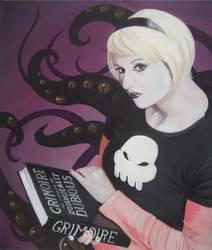Black Rose (Jowy's portrait) by FlamiatheDemon