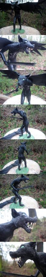 Jack Noir Sculpture