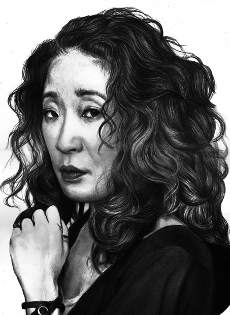 Sandra Oh by paradokusu