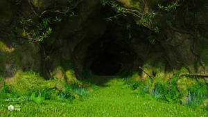 Green Cave (img03) by Andrey79
