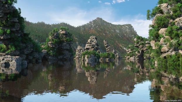 Overgrown Peaks (Img 1)