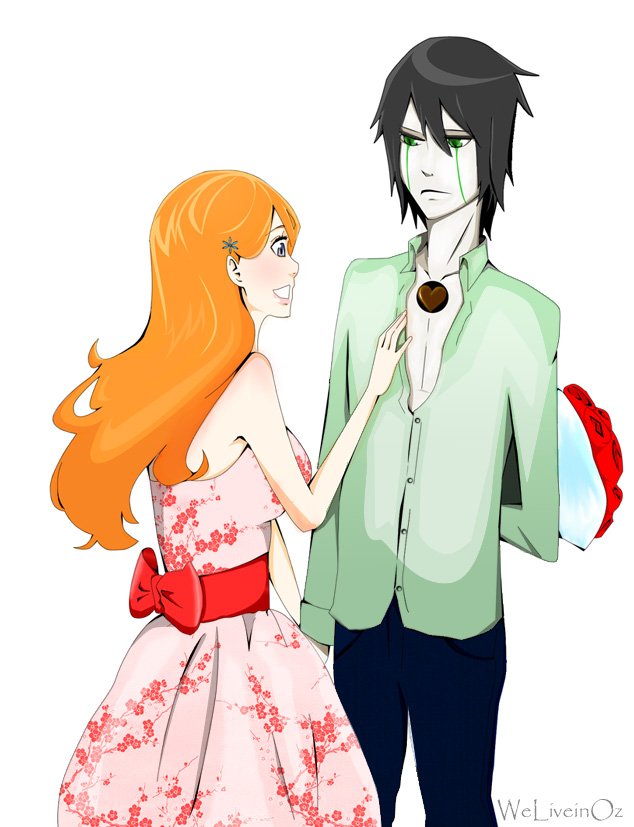 bleach ulquiorra and orihime relationship