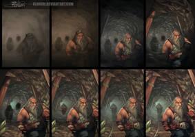 Dwarves - process by Flonum