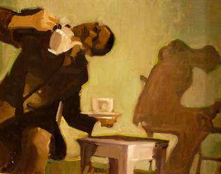 Teapot Man by sarasnaps