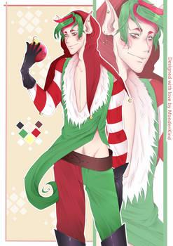 Santas Helper [Christmas Amino Adoptable]