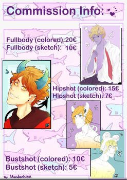 Tryna sell commissions again