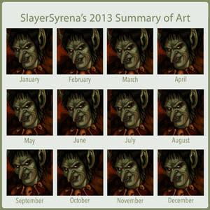 Improved 2013 Art Summary