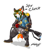 A Spies Worst Enemy by Renard-Foxx