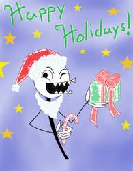 Merry Christmas, Dimitri! by LuckyLadyXandra