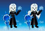 Vexen the Snow Owl (Vexen as a Mobian Character) by LuckyLadyXandra