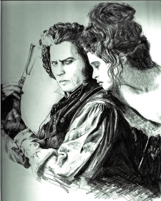 Sweeney Todd by scissormetimbers