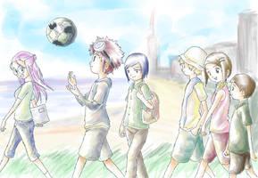 Digimon Adventure 02 by scissormetimbers
