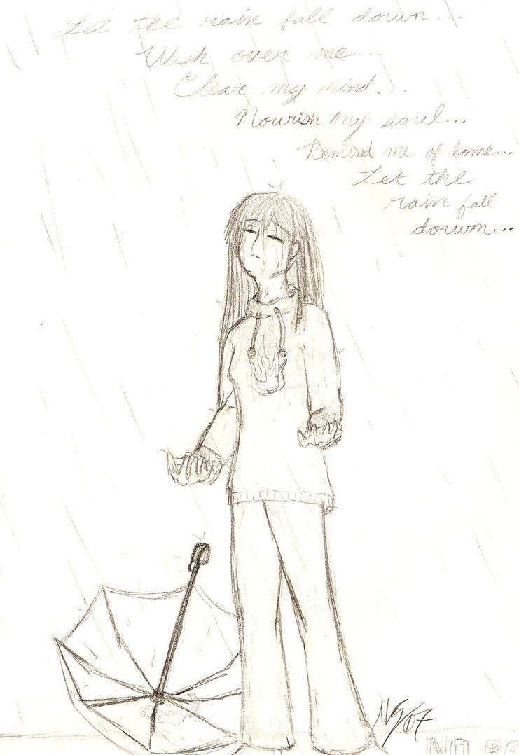 Let The Rain Fall Down... by Maruki