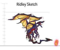 Ridley Sketch by AdoubleA
