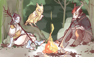 Sketch Of Friends