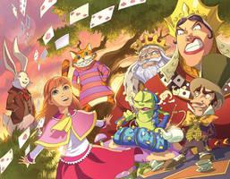 Alice in Wonderland by DonoMX