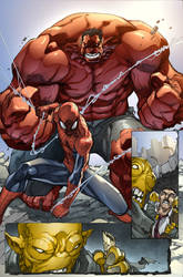 Avenging Spider-man Preview 3 by DonoMX