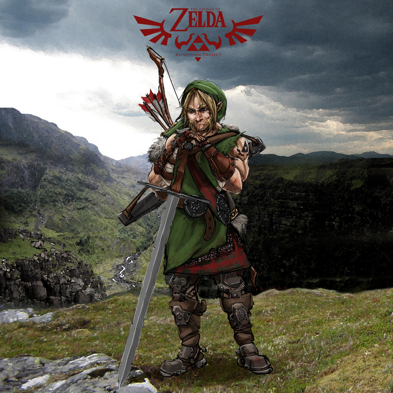 Legend of Zelda: Link Concept