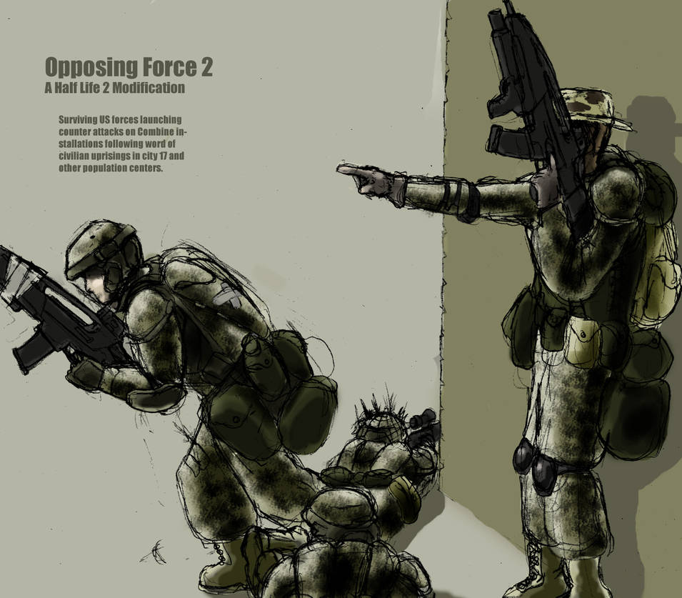 Opposing Force 2 Concept Art By Mckiller On Deviantart