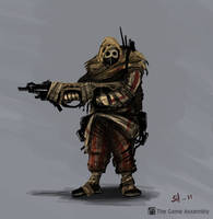 Wasteland Recon concept by borkum