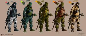 SpecOps color variations