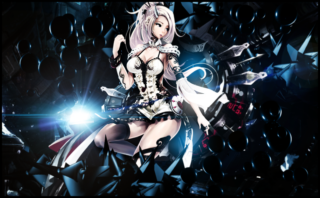 Anime Wallpaper [Space] by AnthonyGC on DeviantArt