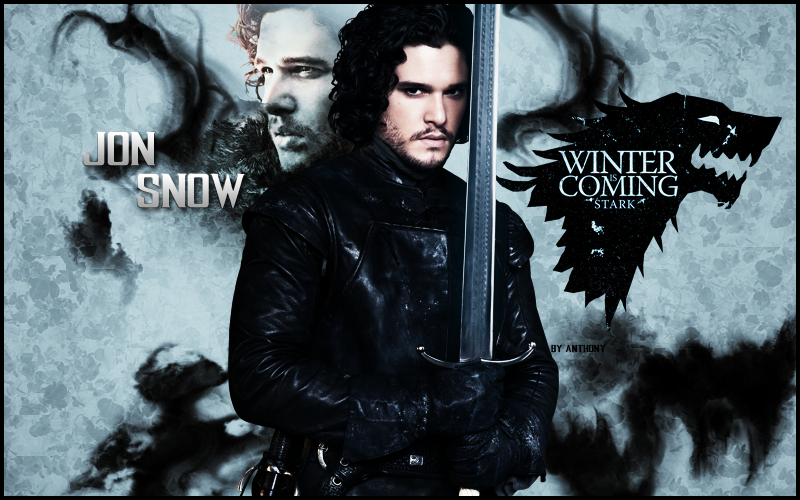 Jon Snow Wallpaper Game Of Thrones By AnthonyGC
