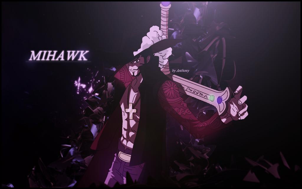 mihawk wallpaper one piece by anthonygc on deviantart