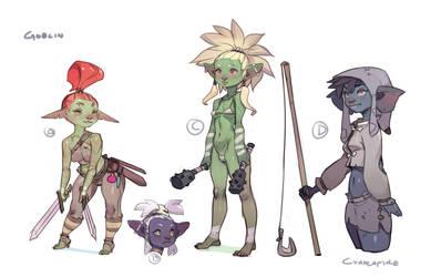Goblin concepts for Sexena