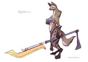 Gnoll concept for Sexena